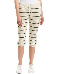 Chaser - French Terry Crop Pant - Lyst