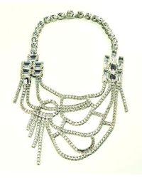 Otazu - Crystal Roads Swarovski Crystal Cupchain Necklace - Lyst