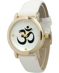 Olivia Pratt - Ohm Emblem Watch - Lyst