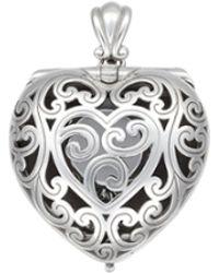Jan Leslie - Heart-shaped Engagement Ring Locket - Lyst