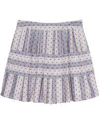 Olive & Oak - Multi Stripe Skirt - Lyst