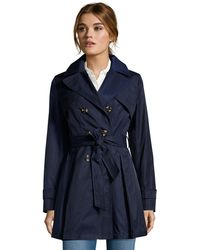 Laundry by Shelli Segal - Double Breasted Trench - Lyst