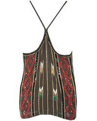 Single Dress - Tina Sequin Tank - Lyst