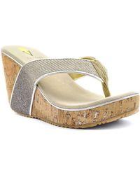 Volatile - Women's Sabin Sandals - Lyst