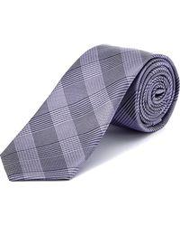 W.r.k. - W.r.k Purple Plaid Silk Tie - Lyst