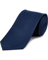 English Laundry - Navy Silk Tie - Lyst