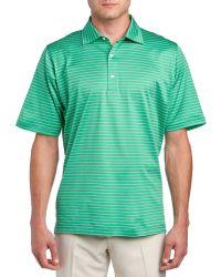 Fairway & Greene - Connery Stripe Lisle Polo Shirt - Lyst