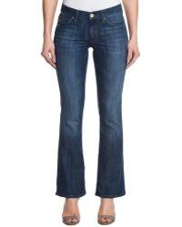 "Mavi Jeans - Mavi """"molly"""" Mid Kensington Wash Mid Rise Classic Bootcut - Lyst"