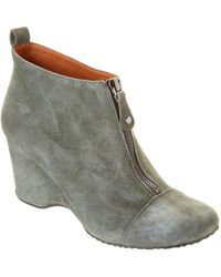 Gentle Souls - Ridgual Suede Ankle Boot - Lyst