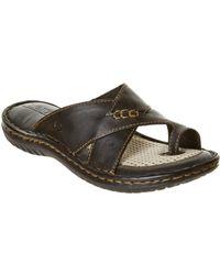 Born - Saanvi Leather Sandal - Lyst