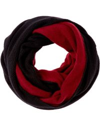 Magaschoni - Women's Black Cashmere Scarf - Lyst