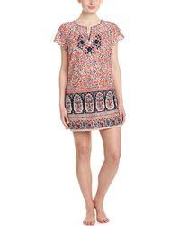 Lucky Brand - Embroidered Sleep Shirt - Lyst