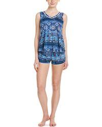 Lucky Brand - 2pc Short Pyjama Set - Lyst