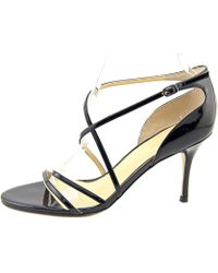 Ivanka Trump - Womens Garis Leather Open Toe Ankle Strap D-orsay Pumps - Lyst