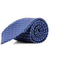 Ferragamo - Men's Blue Silk Tie - Lyst