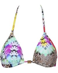 Phax - Multicolour Triangle Swimsuit Essential Flowers - Lyst