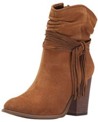 Jessica Simpson - Womens Sesley Suede Almond Toe Ankle Fashion Boots - Lyst