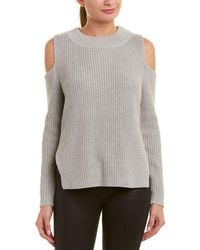 French Connection - Mozart Ladder Knit Sweater - Lyst