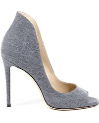 Andrew Charles by Andy Hilfiger - Andrew Charles Womens Pump Open Toe Denim Dafne - Lyst