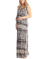 Everly Grey - Maternity Jill Dress - Lyst
