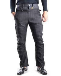 John Galliano - Men's Mcbi130008o Grey Linen Pants - Lyst