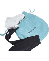 Tiffany & Co. - Vintage Elsa Peretti Heart Buckle 925 Sterling Black Suede Belt 1979 - Lyst