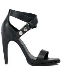 Atelje71 - Atelje Sapphire Leather Sandal - Lyst