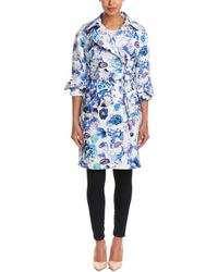 Eliza J - Belted Trench Coat - Lyst