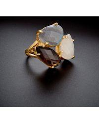 Argento Vivo - 18k Over Silver Gemstone Ring - Lyst