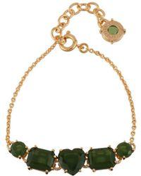 Les Nereides - La Diamantine Green Forest 5 Stones Bracelet - Lyst