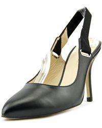 Carmen Marc Valvo - Felix Women Pointed Toe Leather Slingback Heel - Lyst