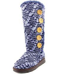 Muk Luks - Malena Sleigh Ride Women Round Toe Synthetic Winter Boot - Lyst