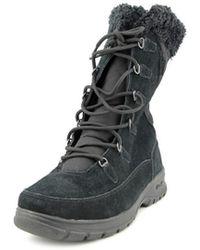 Kamik - Boston Round Toe Canvas Snow Boot - Lyst