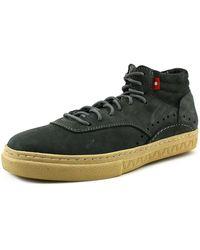 Oliberte - Kavango Men Round Toe Leather Sneakers - Lyst