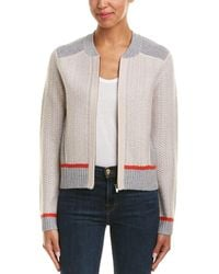 Duffy - Texture Wool & Cashmere-blend Cardigan - Lyst