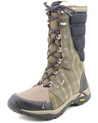 Ahnu - Northridge Round Toe Canvas Snow Boot - Lyst