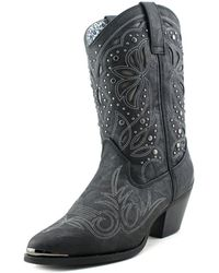 Dingo - Lad 10 Pointed Toe Synthetic Western Boot - Lyst