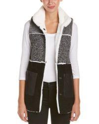 Fate - Colour Block Wool-blend Vest - Lyst