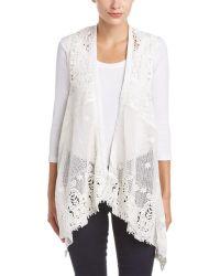 Esley - Collection Lace Vest - Lyst
