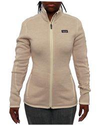 Patagonia - Women Women's Better Jumper Jacket Fleece Raw Linen - Lyst