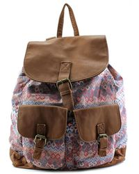 T-Shirt & Jeans - T-shirt & Jeans 814044stk Backpack Women Synthetic Multi Colour Backpack - Lyst