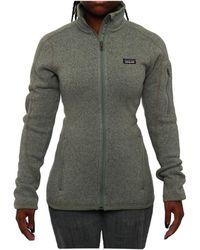 Patagonia - Women Women's Better Jumper Jacket Fleece Verdigris - Lyst
