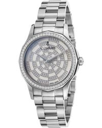 Corum - Women's Diamond Admiral's Cup Legend Stainless Steel White Dial - Lyst