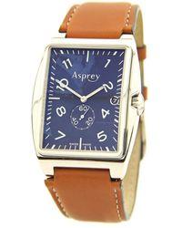 Asprey - 1018246 Stainless Steel Silver Men Watch - Lyst