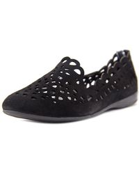 Gerry Weber - Maren 11 Round Toe Leather Flats - Lyst