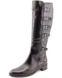 Sesto Meucci - 3107 Round Toe Leather Over The Knee Boot - Lyst