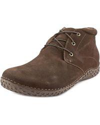 Alegria - Jake Round Toe Leather Chukka Boot - Lyst