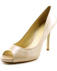 Enzo Angiolini - Maiven Women Peep-toe Synthetic Heels - Lyst