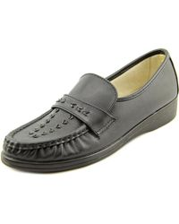 Softspots - Venus Lite N/s Moc Toe Leather Loafer - Lyst