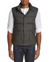 Lucky Brand - Wool-blend Down Vest - Lyst